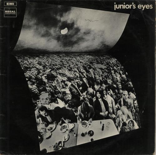 Junior's Eyes Battersea Power Station vinyl LP album (LP record) UK JZNLPBA647142