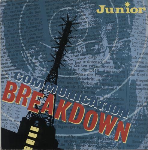 "Junior Communication Breakdown 12"" vinyl single (12 inch record / Maxi-single) UK JNR12CO670545"