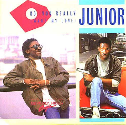 "Junior Do You Really (Want My Love) 7"" vinyl single (7 inch record) UK JNR07DO293882"