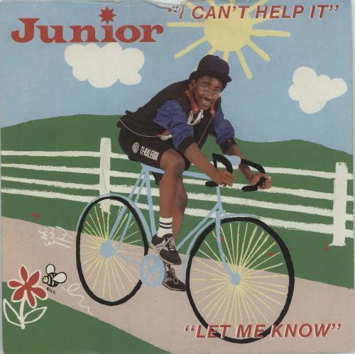 "Junior I Can't Help It 7"" vinyl single (7 inch record) UK JNR07IC673169"