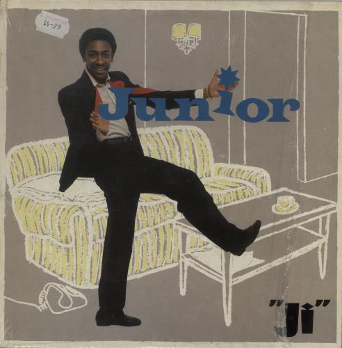 Junior Ji + Shrink vinyl LP album (LP record) UK JNRLPJI754727