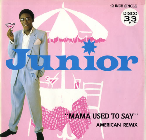 "Junior Mama Used To Say American Remix 12"" vinyl single (12 inch record / Maxi-single) UK JNR12MA143078"