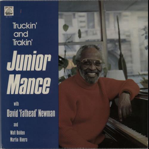 Junior Mance Truckin' And Trakin' vinyl LP album (LP record) US JM4LPTR600760