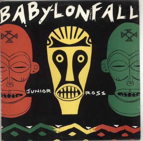 Junior Ross Babylon Fall vinyl LP album (LP record) Jamaican Q-OLPBA710170