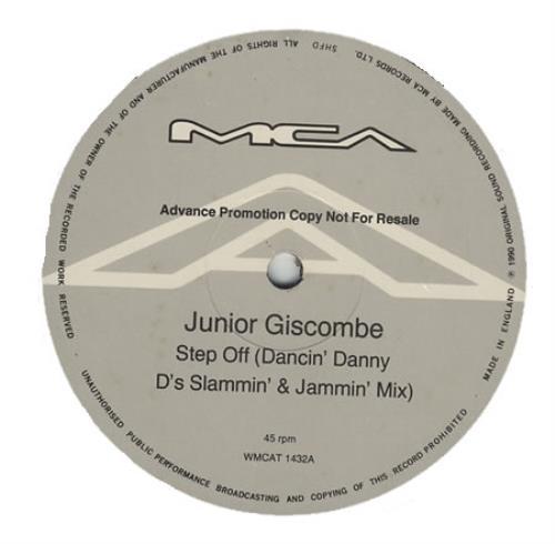 "Junior Step Off 12"" vinyl single (12 inch record / Maxi-single) UK JNR12ST394544"