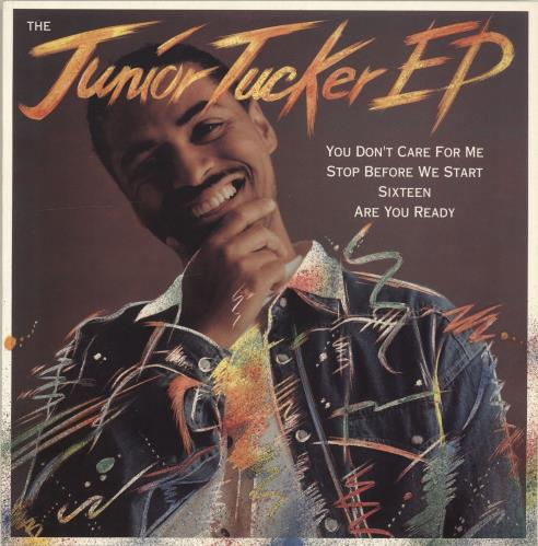 "Junior Tucker The Junior Tucker EP 12"" vinyl single (12 inch record / Maxi-single) UK JTU12TH700761"