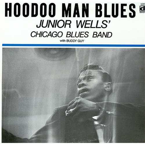 Junior Wells Hoodoo Man Blues - 1st vinyl LP album (LP record) US JW3LPHO410796