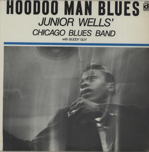 Junior Wells Hoodoo Man Blues - 80s US vinyl LP album (LP