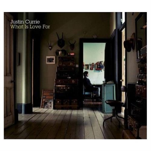 Justin Currie What Is Love For vinyl LP album (LP record) UK JU7LPWH416097