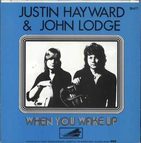 "Justin Hayward & John Lodge Blue Guitar 7"" vinyl single (7 inch record) Belgian ZV007BL385846"