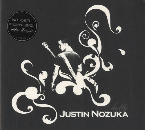Justin Nozuka Holly CD album (CDLP) UK NOZCDHO450155