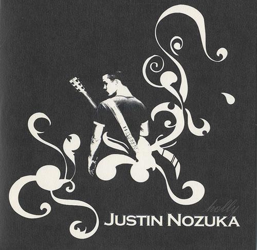 Justin Nozuka Holly CD album (CDLP) UK NOZCDHO487795