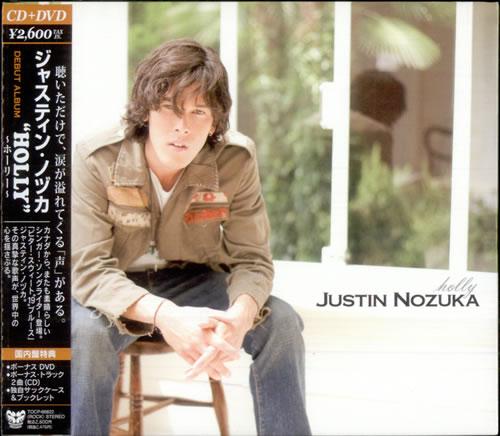 Justin Nozuka Holly CD album (CDLP) Japanese NOZCDHO504456