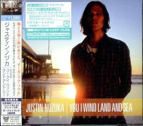 Justin Nozuka You I Wind Land And Sea CD album (CDLP) Japanese NOZCDYO517798
