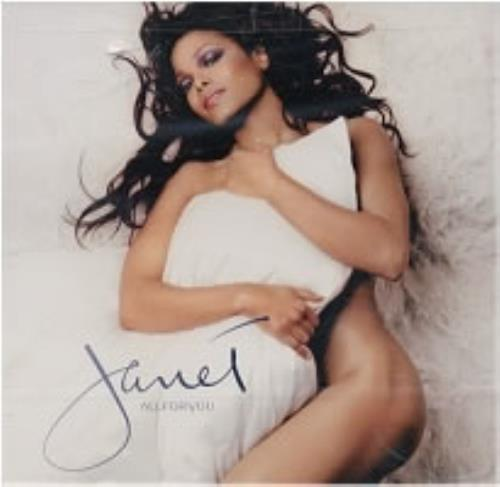 "Janet Jackson All For You CD single (CD5 / 5"") US J-JC5AL181714"