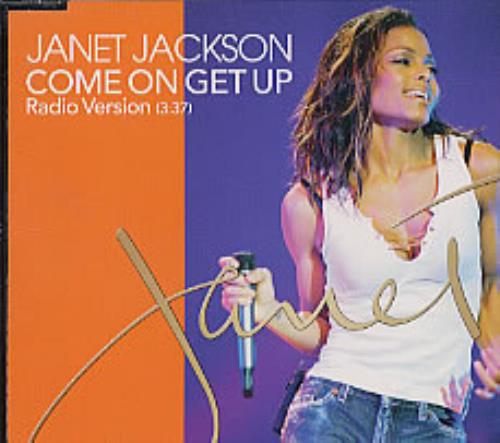 "Janet Jackson Come On Get Up CD single (CD5 / 5"") Japanese J-JC5CO207689"