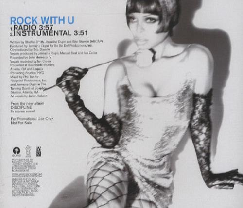 "Janet Jackson Rock With U CD single (CD5 / 5"") US J-JC5RO429754"