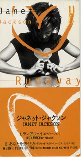"Janet Jackson Runaway 3"" CD single (CD3) Japanese J-JC3RU50541"