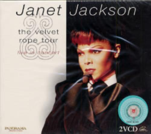 Janet Jackson The Velvet Rope Tour Video CD Hong Kong J-JVDTH189287