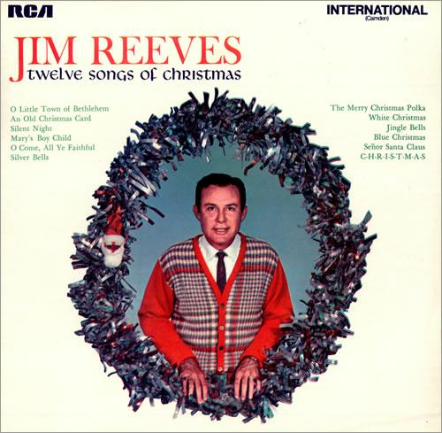Jim Reeves Twelve Songs Of Christmas UK vinyl LP album (LP record) (495758)