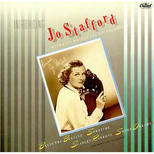 Jo Stafford Introducing Jo Stafford vinyl LP album (LP record) UK JS0LPIN411733