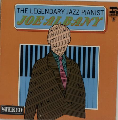 Joe Albany The Legendary Jazz Pianist vinyl LP album (LP record) US J26LPTH590169