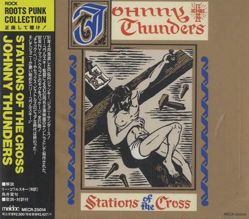 Johnny Thunders Stations Of The Cross CD album (CDLP) Japanese JTHCDST468646