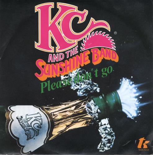 "K.C. & The Sunshine Band Please Don't Go 7"" vinyl single (7 inch record) Italian K-C07PL358096"