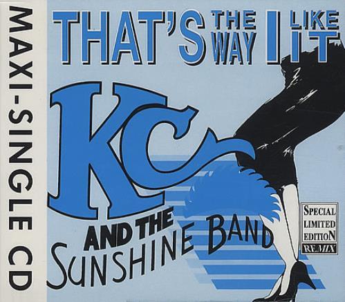 "K.C. & The Sunshine Band That's The Way I Like It CD single (CD5 / 5"") German K-CC5TH383426"