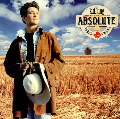 K.D. Lang Absolute Torch And Twang - Title stickered vinyl LP album (LP record) UK KDLLPAB40107