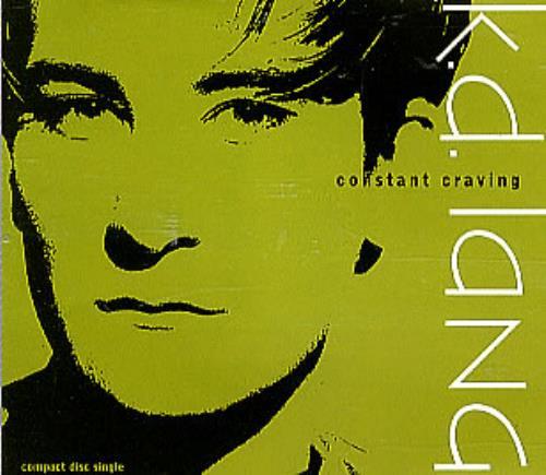 "K.D. Lang Constant Craving CD single (CD5 / 5"") German KDLC5CO07103"