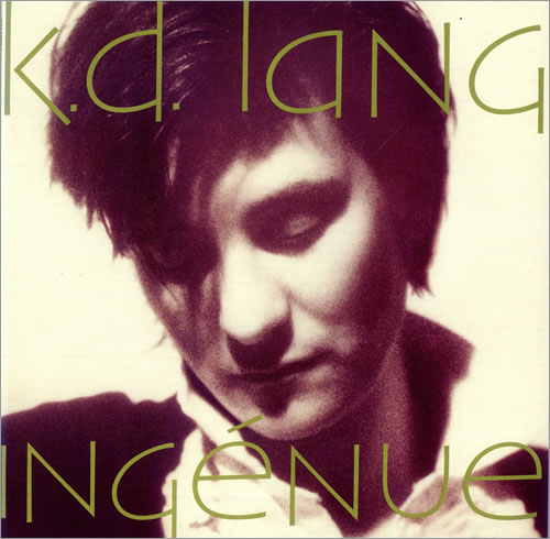 K.D. Lang Ingénue + Inner vinyl LP album (LP record) UK KDLLPIN495069