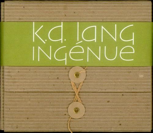 K.D. Lang Ingenue - Corrugated Card Pack CD album (CDLP) US KDLCDIN67700