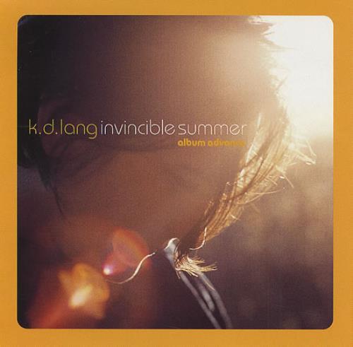 K.D. Lang Invincible Summer CD album (CDLP) US KDLCDIN159073