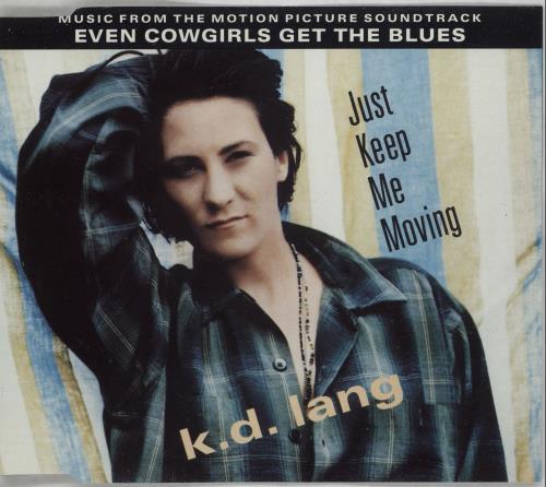 """K.D. Lang Just Keep Me Moving CD single (CD5 / 5"""") UK KDLC5JU23967"""