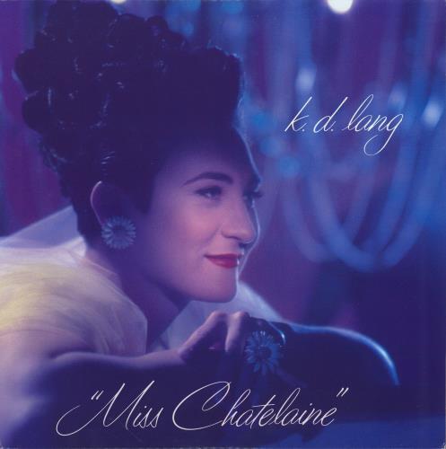 "K.D. Lang Miss Chatelaine 12"" vinyl single (12 inch record / Maxi-single) US KDL12MI16574"
