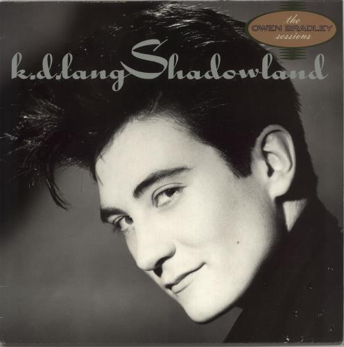 K.D. Lang Shadowland vinyl LP album (LP record) UK KDLLPSH377320