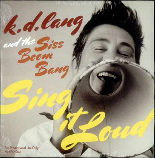 K.D. Lang Sing It Loud CD album (CDLP) US KDLCDSI536771