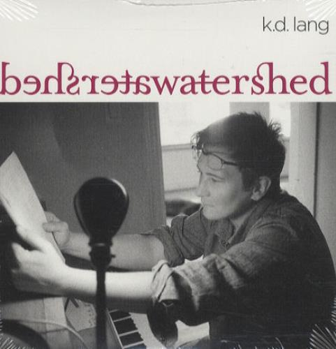 K.D. Lang Watershed CD album (CDLP) US KDLCDWA431794