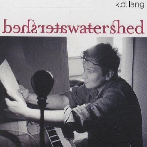 K.D. Lang Watershed CD-R acetate US KDLCRWA434372