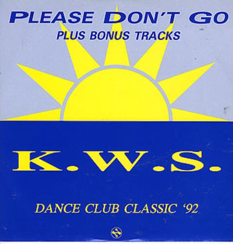 "K.W.S. Please Don't Go 12"" vinyl single (12 inch record / Maxi-single) UK KWS12PL296599"