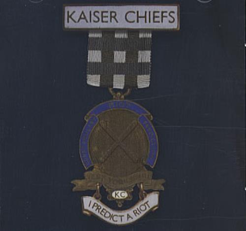 Kaiser Chiefs I Predict A Riot / Sink That Ship 2-CD single set (Double CD single) UK KAZ2SIP332619