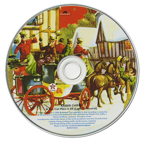 "Kaiser Chiefs You Can Have It All CD single (CD5 / 5"") UK KAZC5YO367180"