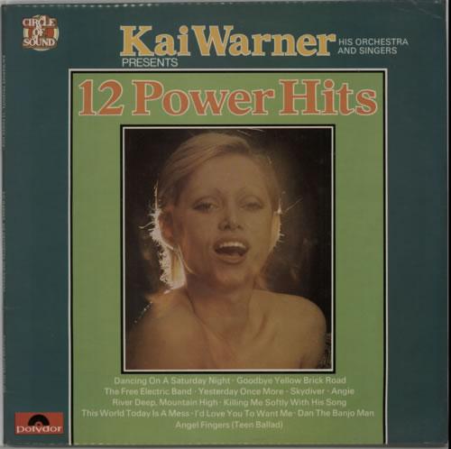 Kai Warner 12 Power Hits vinyl LP album (LP record) German KWTLPPO604677