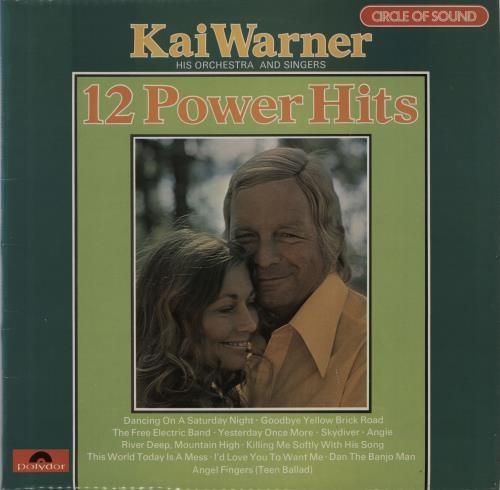 Kai Warner 12 Power Hits vinyl LP album (LP record) UK KWTLPPO604765
