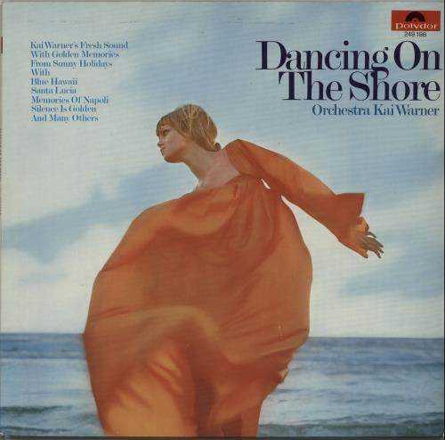 Kai Warner Dancing On The Shore vinyl LP album (LP record) German KWTLPDA650546