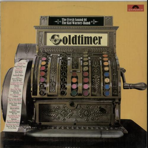 Kai Warner Goldtimer vinyl LP album (LP record) UK KWTLPGO604656