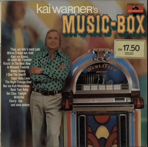 Kai Warner Kai Warner's Music-Box vinyl LP album (LP record) German KWTLPKA604560