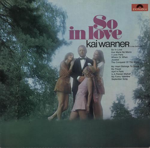 Kai Warner So In Love vinyl LP album (LP record) UK KWTLPSO577496