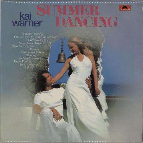 Kai Warner Summer Dancing vinyl LP album (LP record) UK KWTLPSU750319